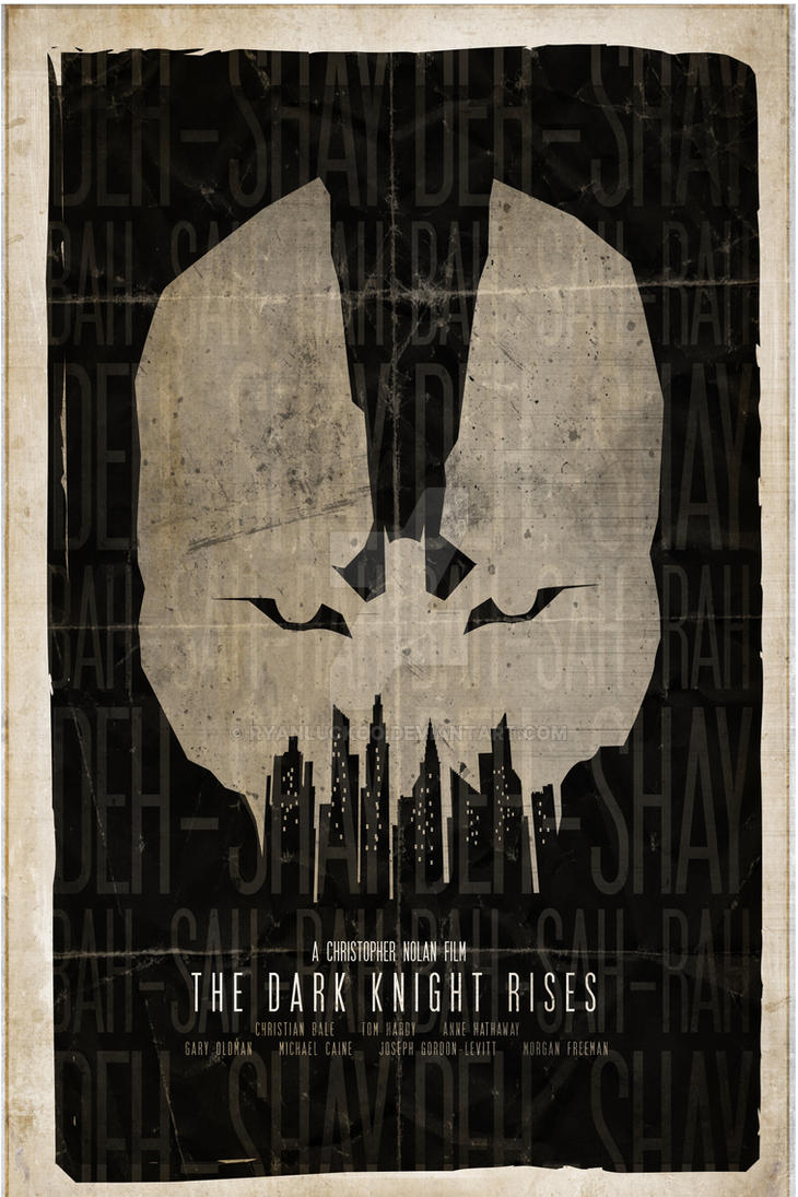 The Dark Knight Rises by RyanLuckoo