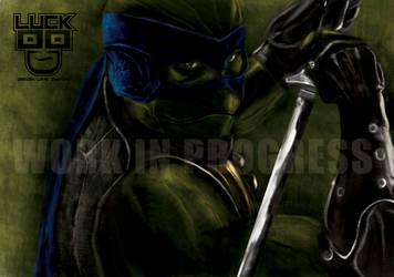 Ninja turtle concept by RyanLuckoo