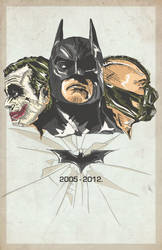 The Dark Knight Trilogy 2005-2012