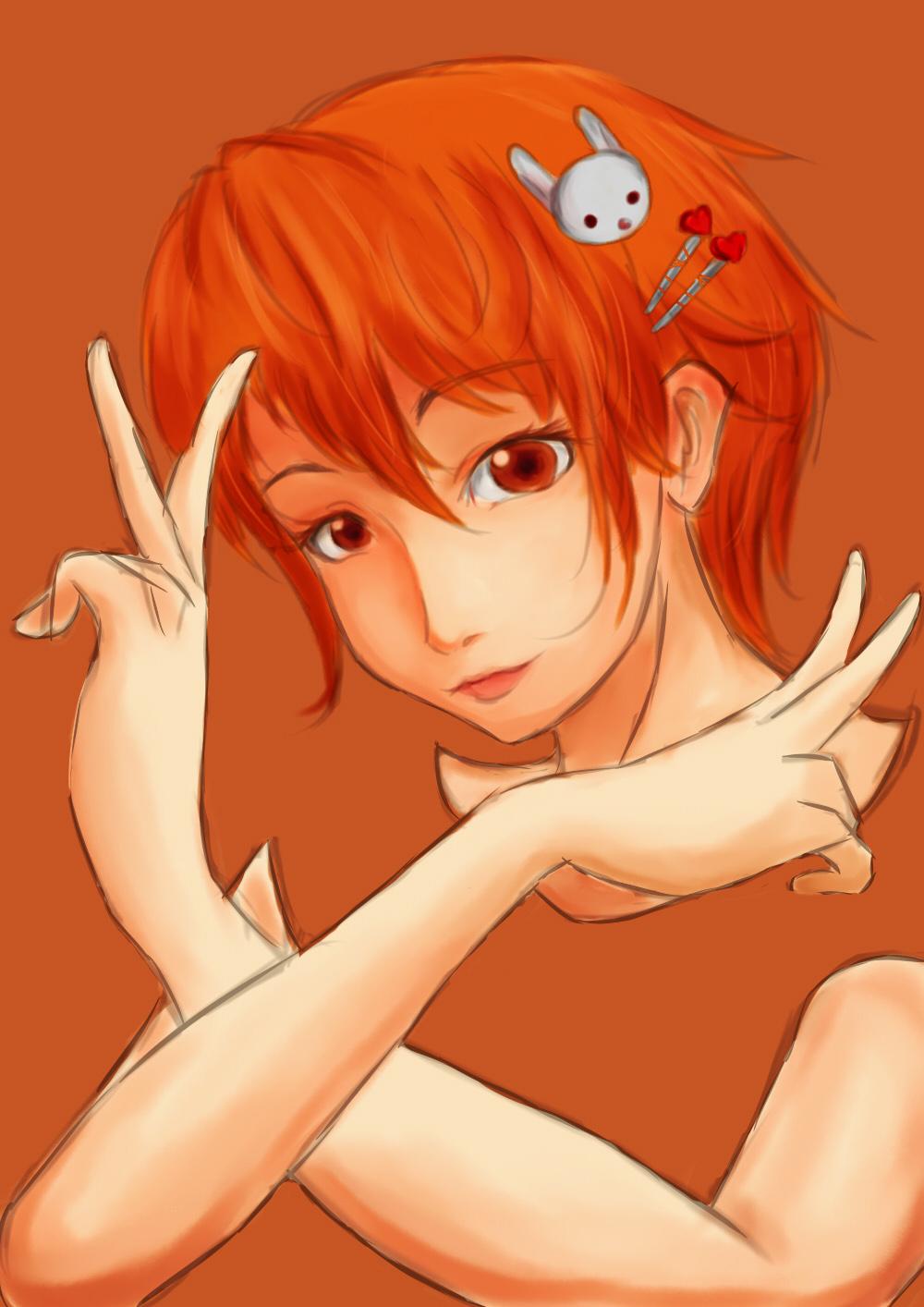 Orange by artevoletia