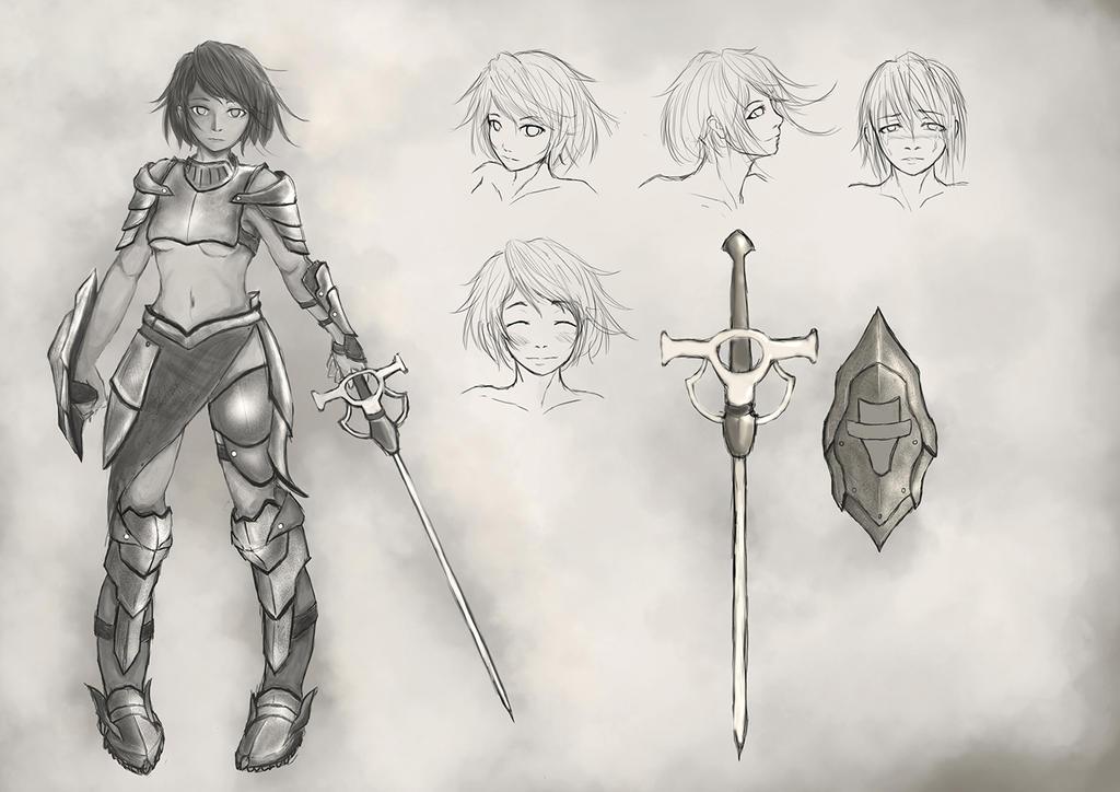 Knight by artevoletia