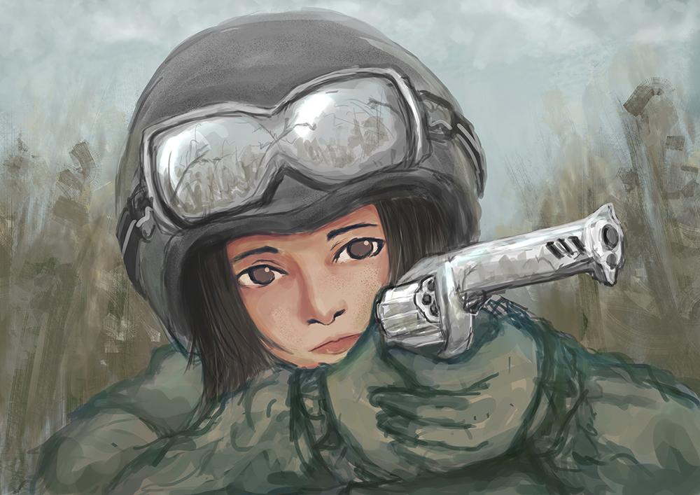 Army Girl by artevoletia