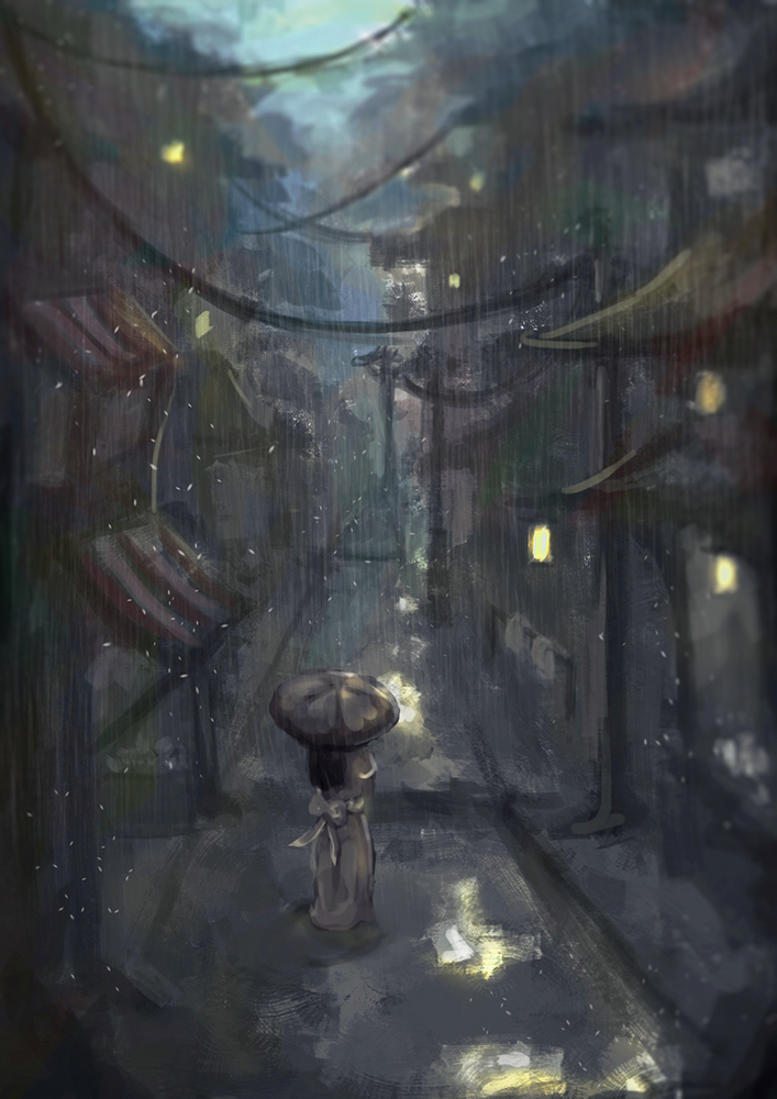 Alley by artevoletia