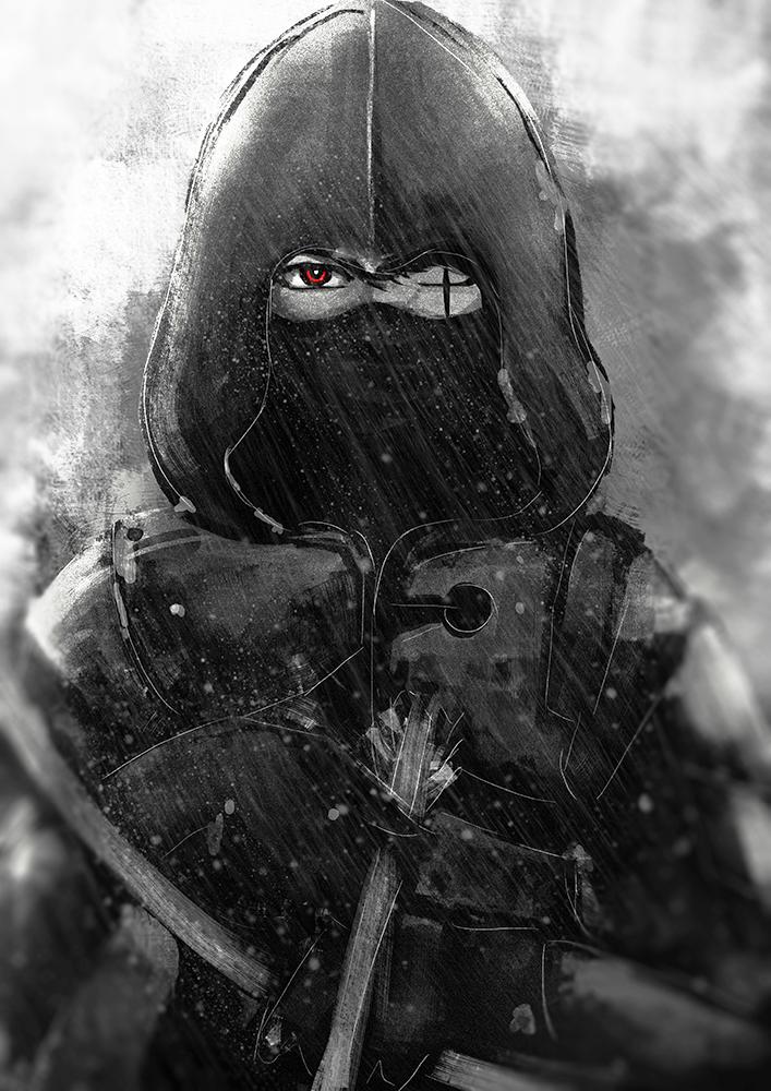 Silent Warrior by artevoletia