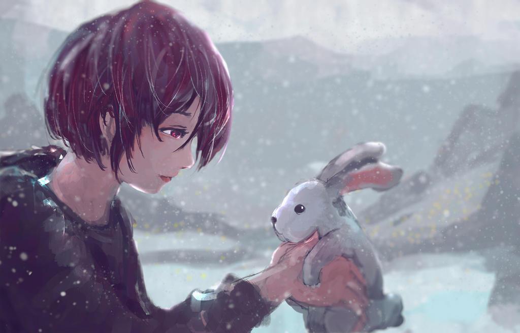Snowy by artevoletia