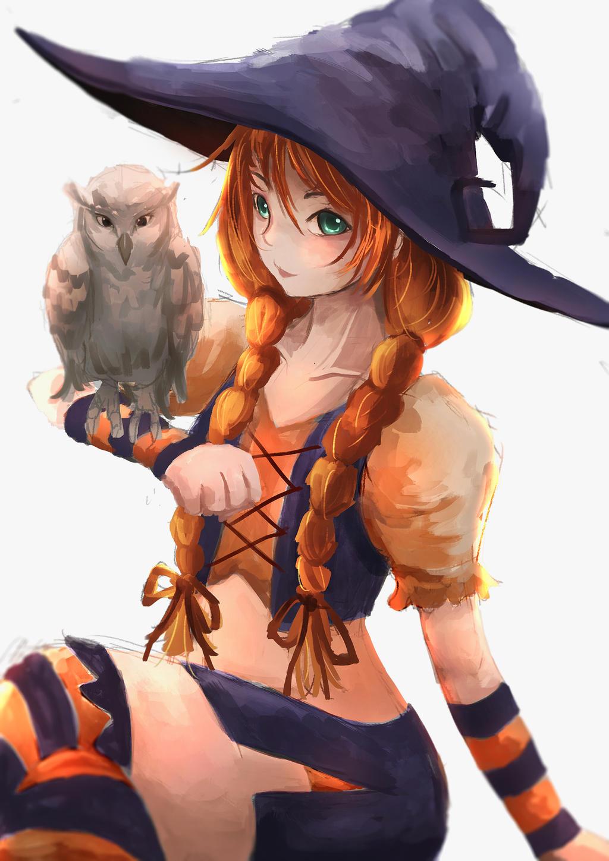 Autumn Witch by artevoletia
