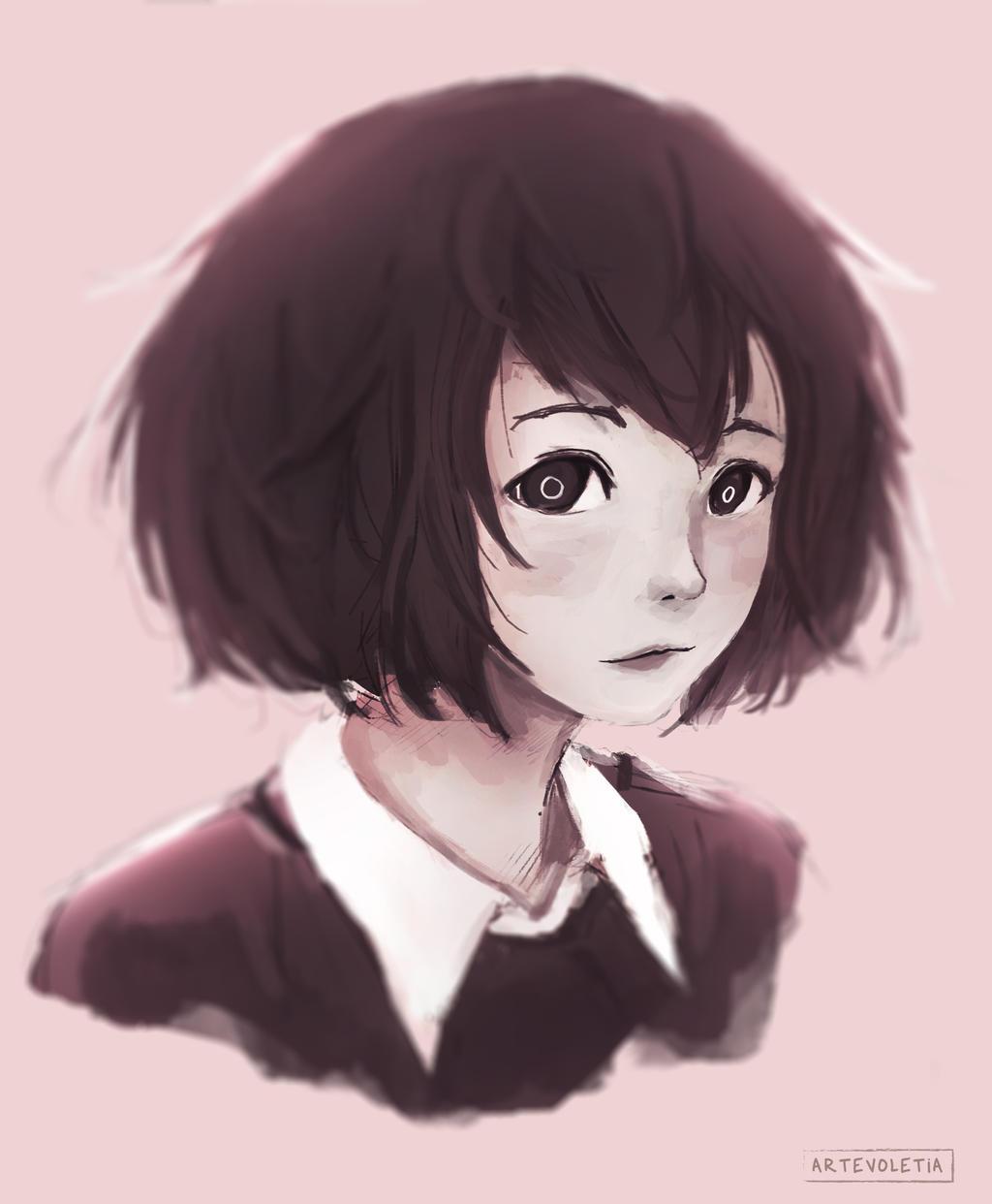 Short hair by artevoletia