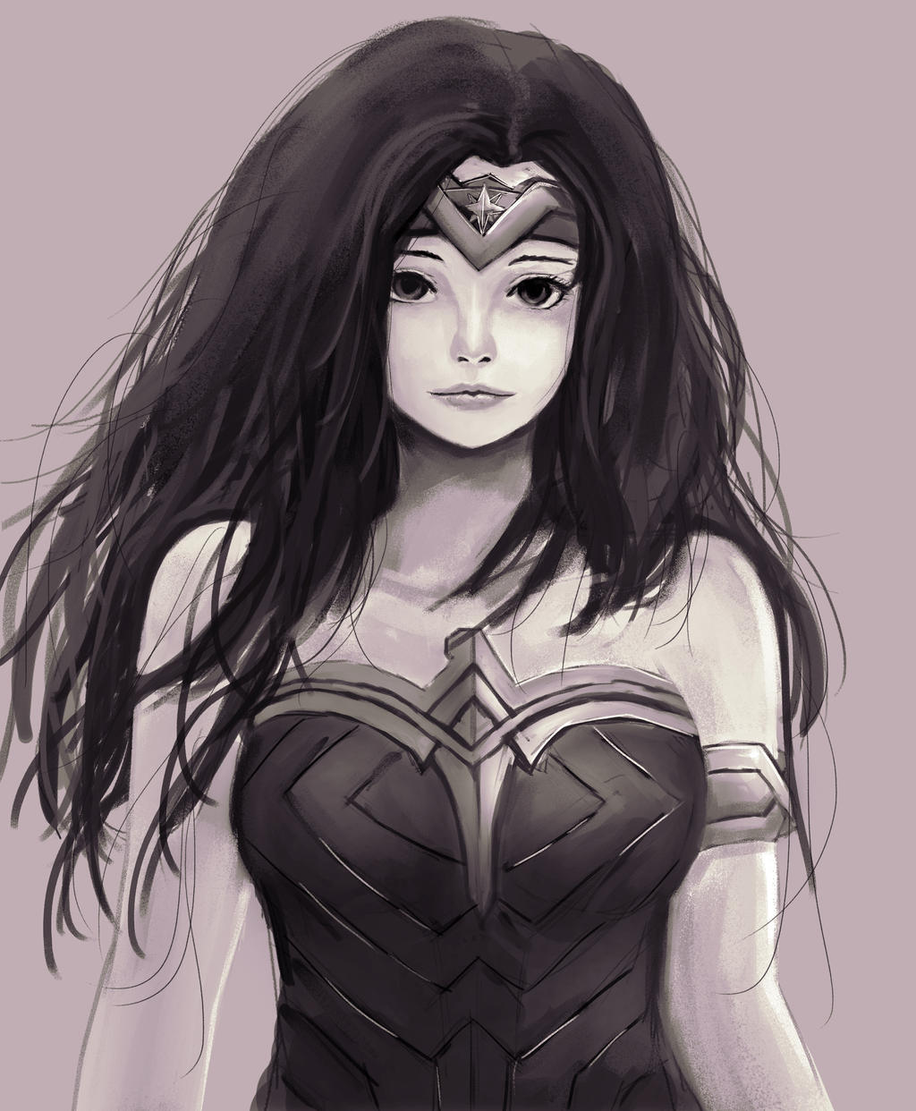 Wonder Woman by artevoletia