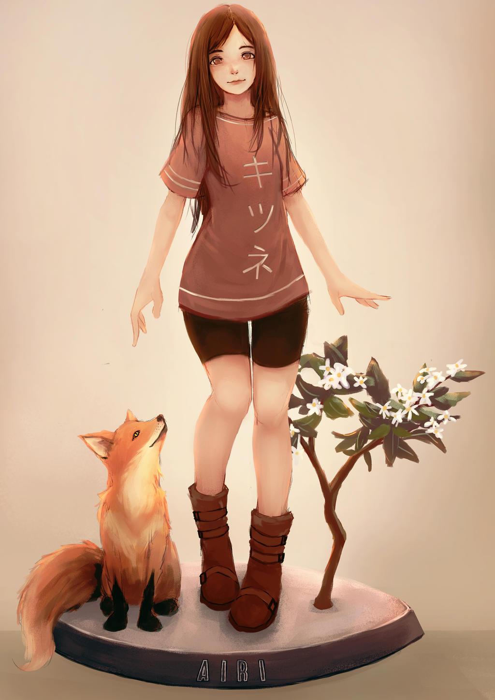 Fox by artevoletia