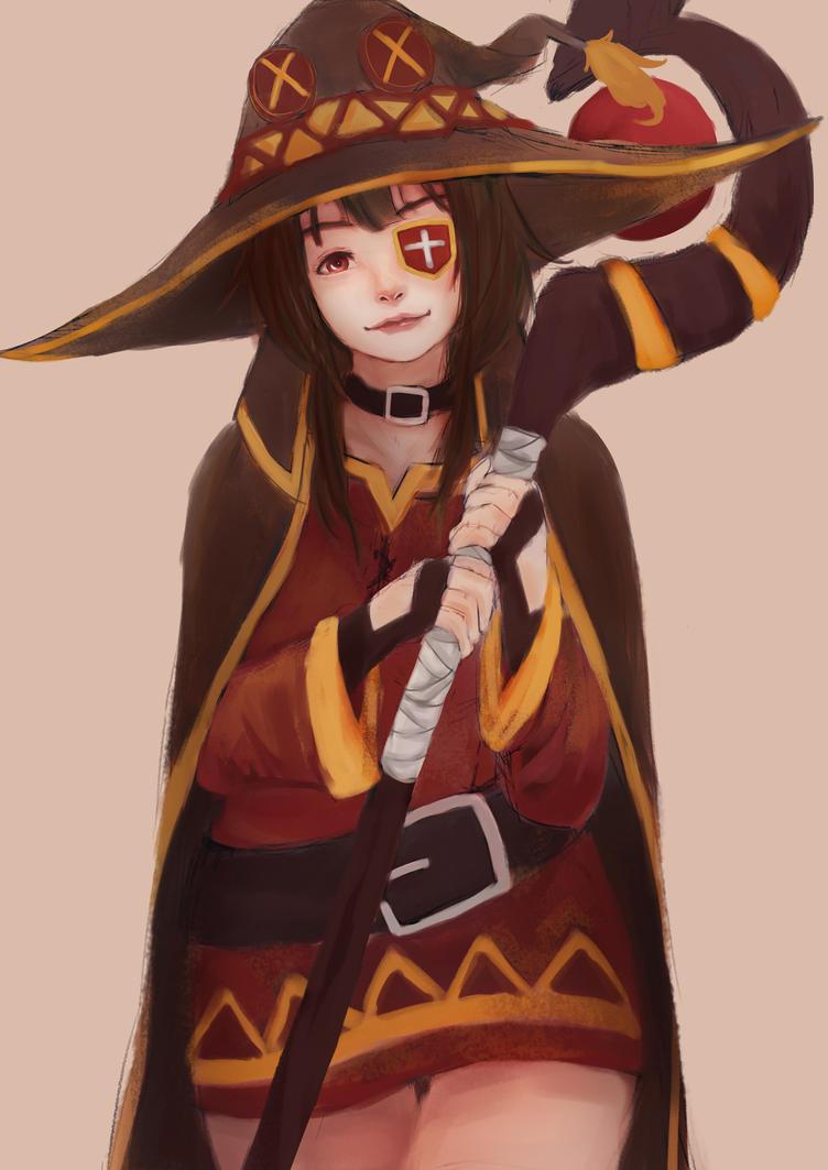 Megumin~ by artevoletia