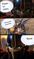 Transformers Prime: comic
