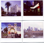Melbourne City Polaroids