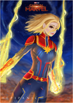 Captain Marvel : Youtube! by hepipanic
