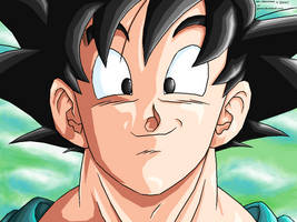 Goku -Satisfied- REMASTERED by JJJawor