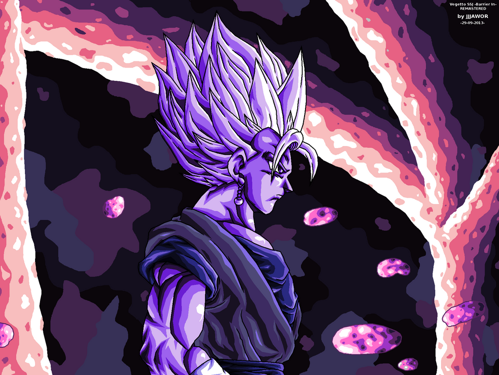 Vegetto SSJ -In barrier- REMASTERED by JJJawor