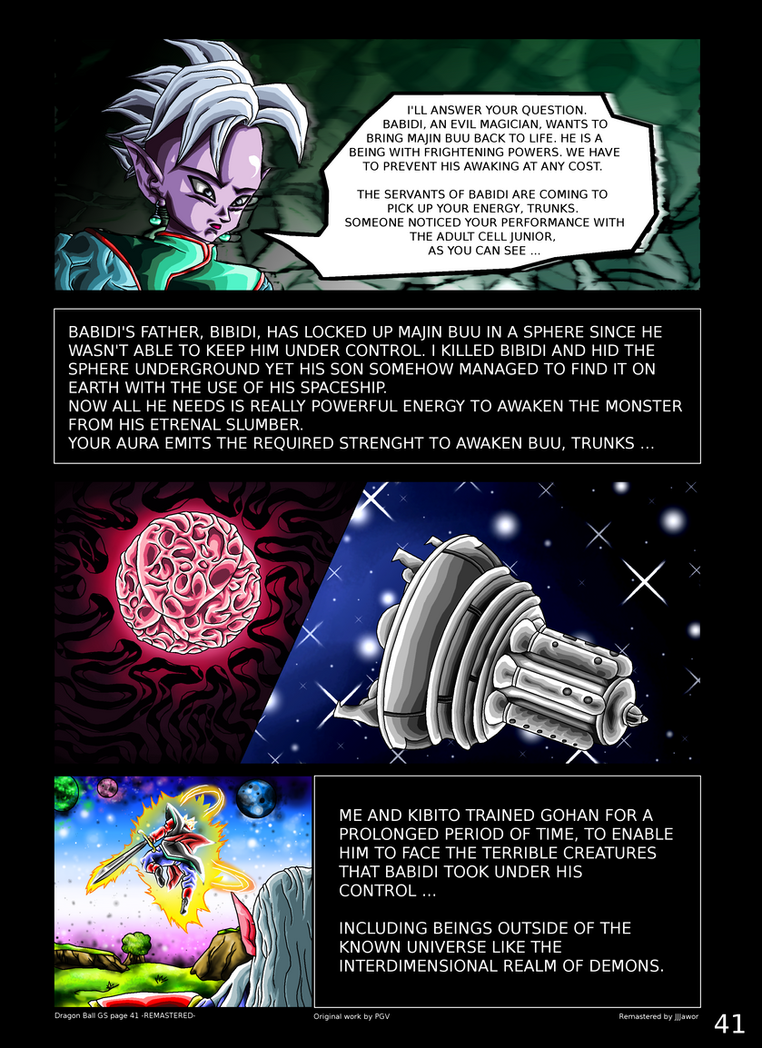 Dragon Ball GS Page 41 -REMASTERED- by JJJawor