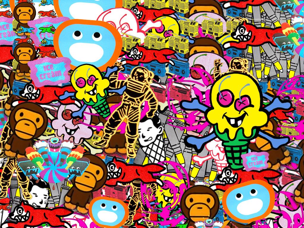 ice cream clothing wallpaper -#main
