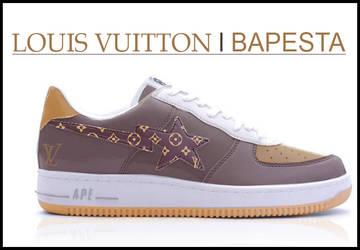 Louis Vuitton vs Bapesta