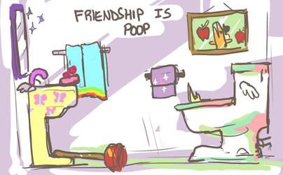 Friendship is Poop by seniorpony