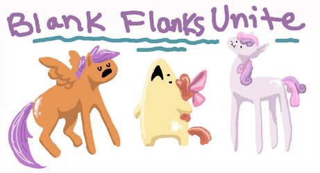 Blank Flanks by seniorpony