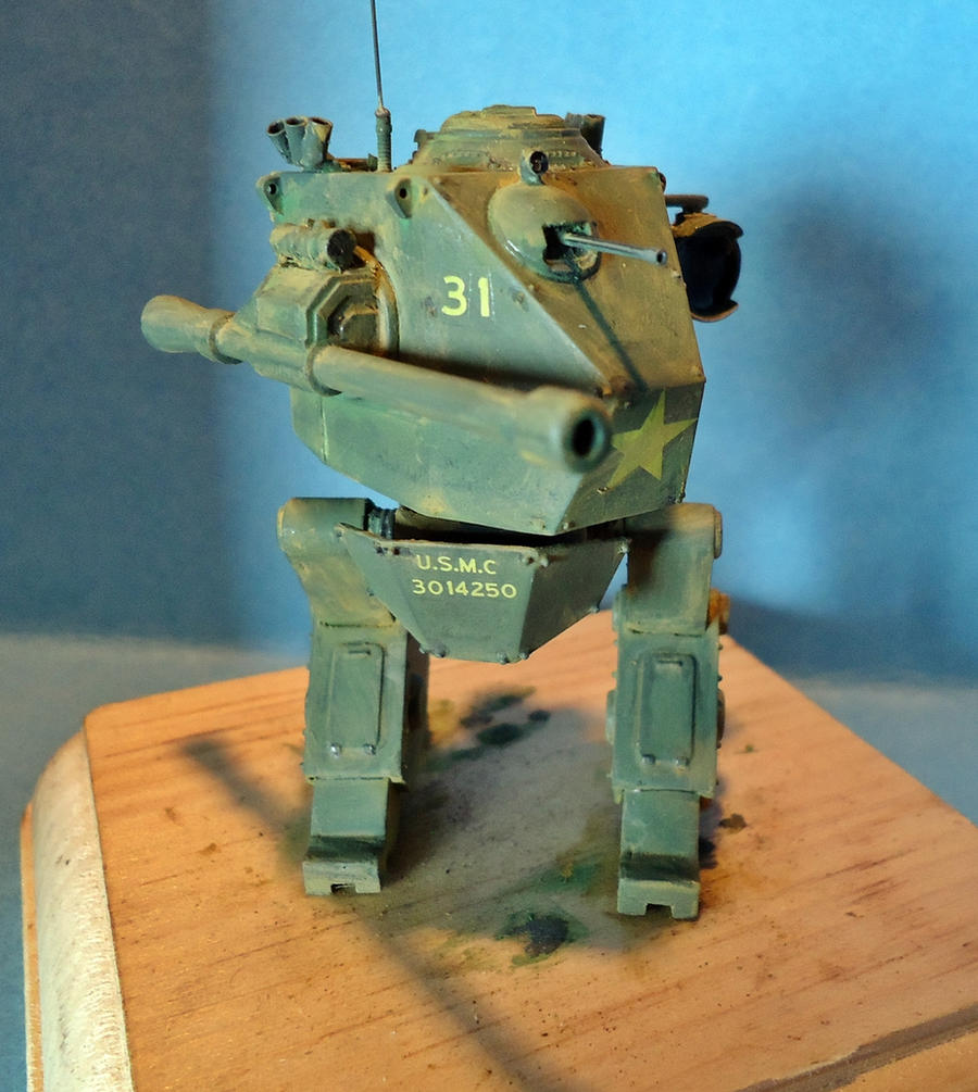 USMC Mecha by Dru-Zod