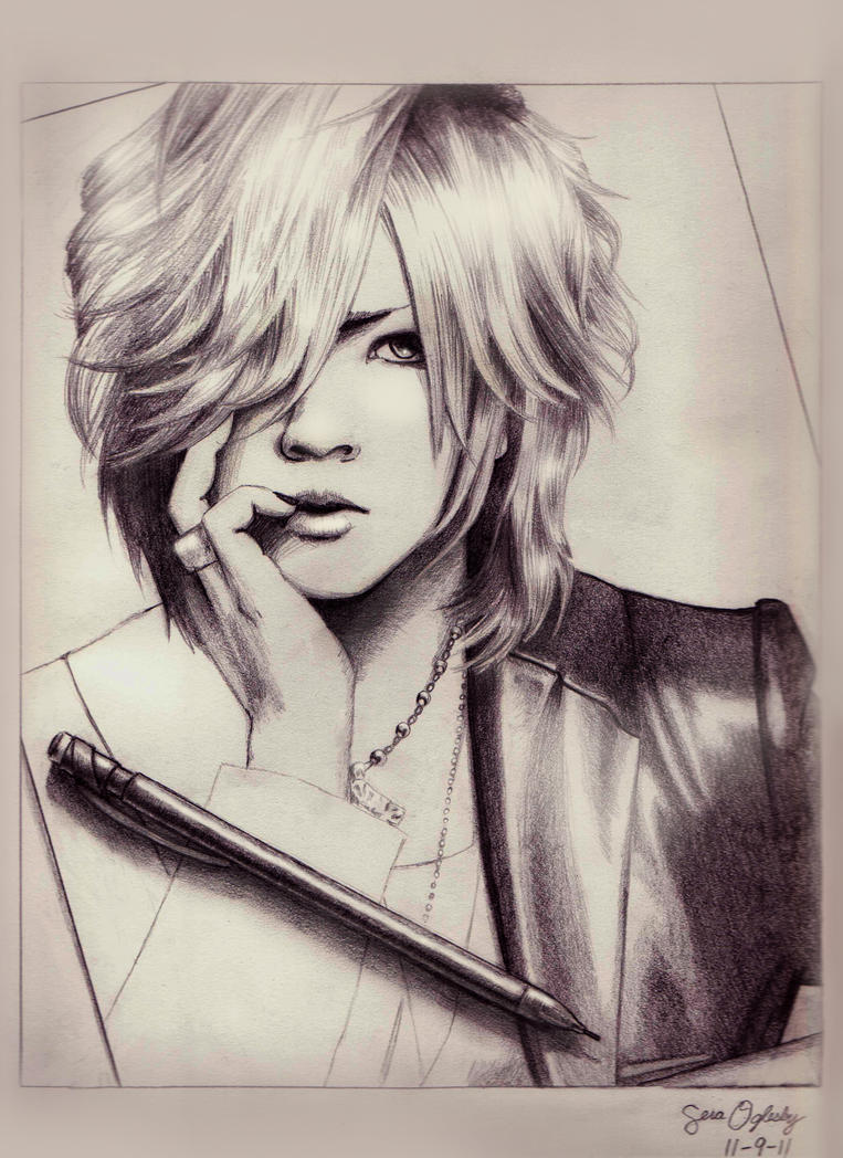 Drawing Ruki by Buckokku11