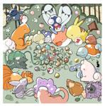 Pokemon Lunch +_+ by KingdomT