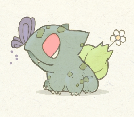 Baby Bulbasaur by KingdomT