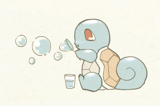 Baby Squirtle by KingdomT