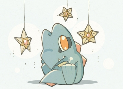 Totodile Baby by KingdomT