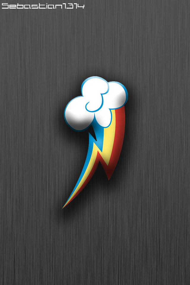rainbow dash mlp iphone wallpaper by sebastian1314 on