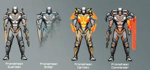 Promethean Guardian Sub-Classes