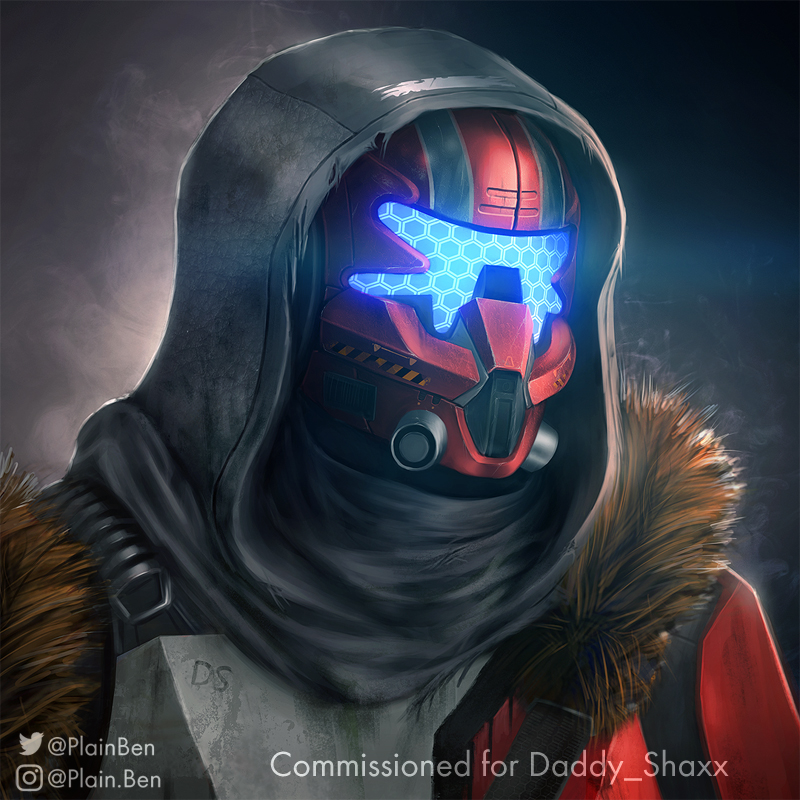 Commission: Destiny/Titanfall Mashup by PlainBen on DeviantArt