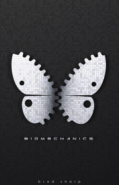 Biomechanics Butterfly iphone wallpaper by brade-s