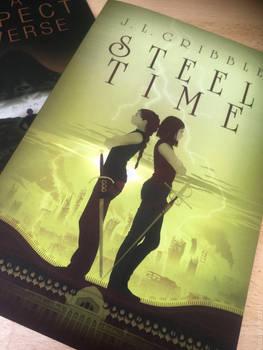 Steel Time - Novel Cover design