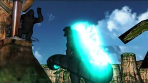 MMD Godzilla:King Kong vs Godzilla