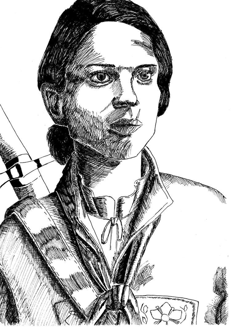 Lieutenant Evangeline Ludovic by SchmutyBuncis