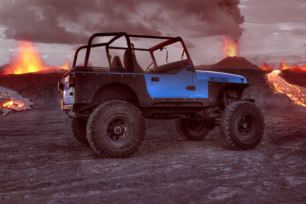 Volcanic Jeep Exploration By Metatrox On DeviantArt