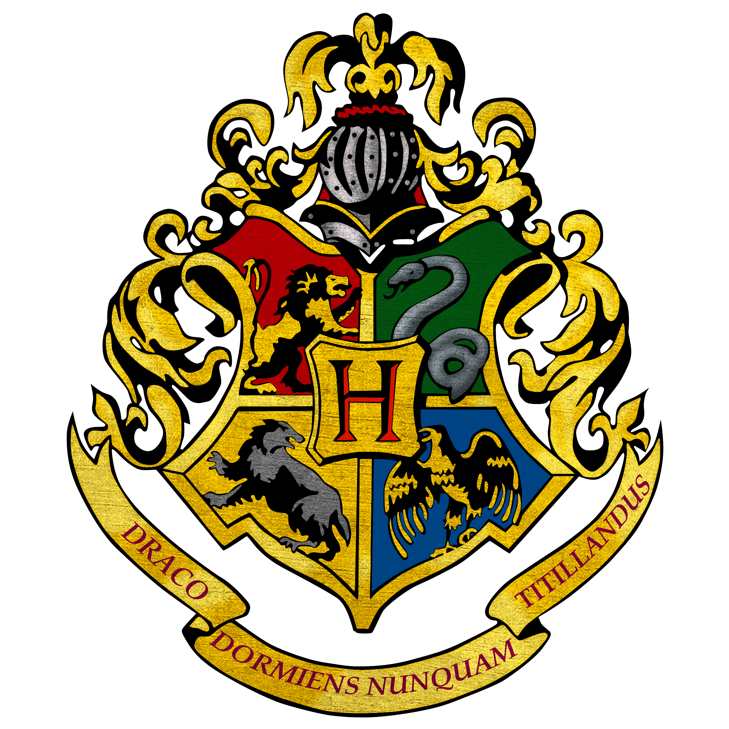 Hogwarts logo by shadoPro on DeviantArt