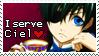I serve Ciel Stamp by Reveriesian