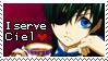 I serve Ciel Stamp by Reveriesian