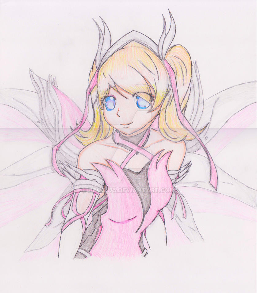 Pink Mercy is so cute omg by BDOG375