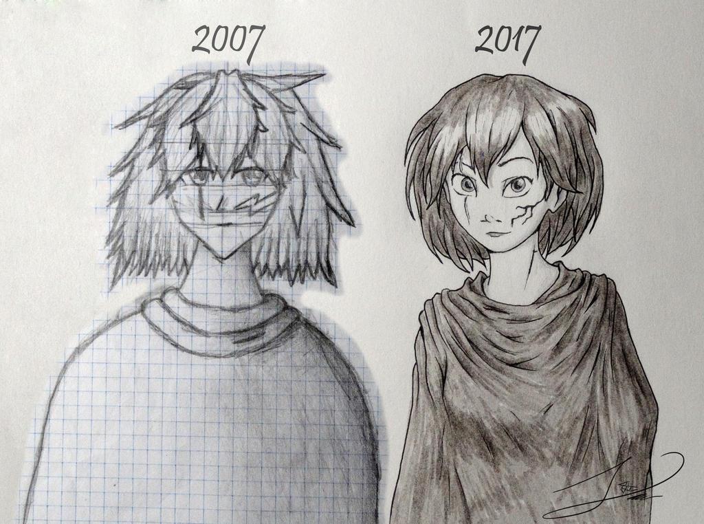 Desde 2007 dibujando. by Oxido-538