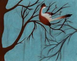 Little Bird Stuck in the Trees
