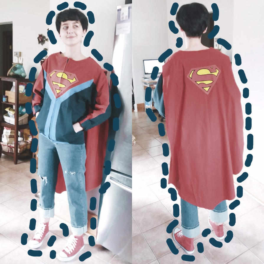 how to make a superboy costume