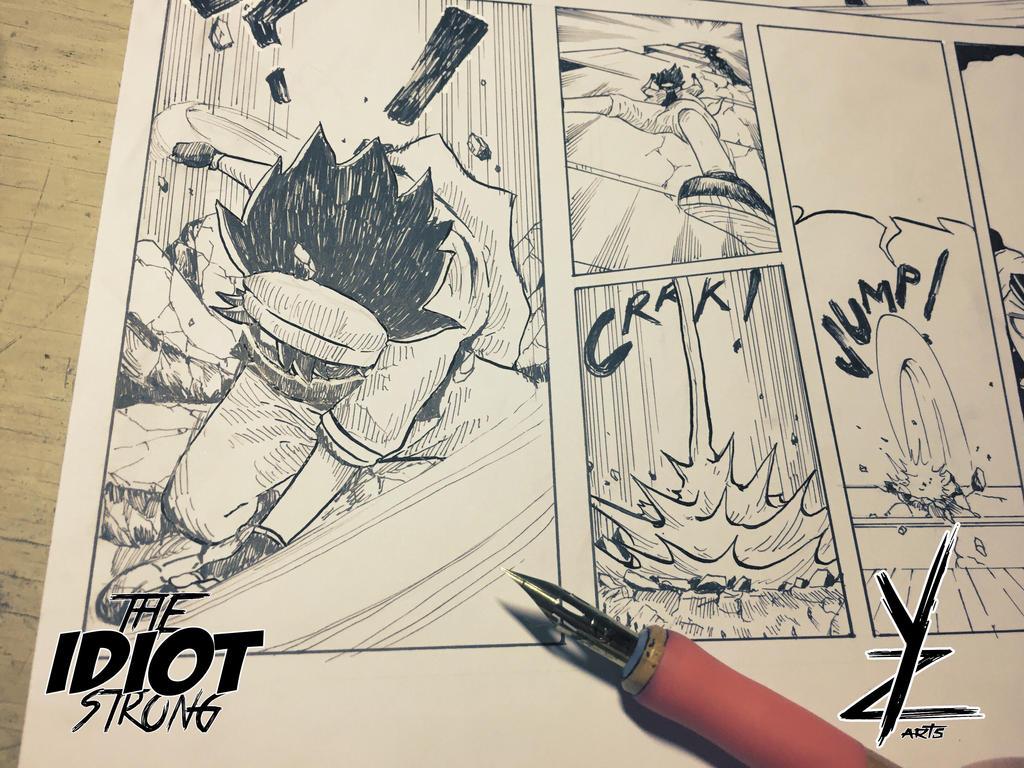 SUPERHERO LANDING!!! by ianmendoza11