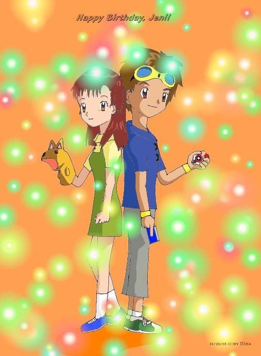 Takato and rika wedding hairstyles