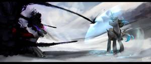 Sever Point VS King Sombra by Backlash91