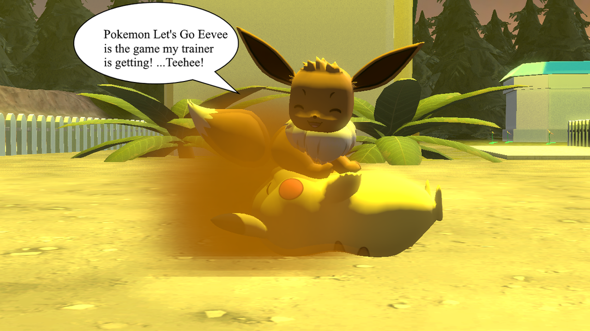 Pokemon Let's Go Eevee Hype! by FartingBoy