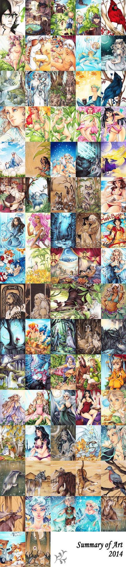 Summary of art 2014 by Zeolith
